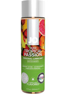 Jo H2o Flavored Water Based Lubricant Tropical Passion 4...